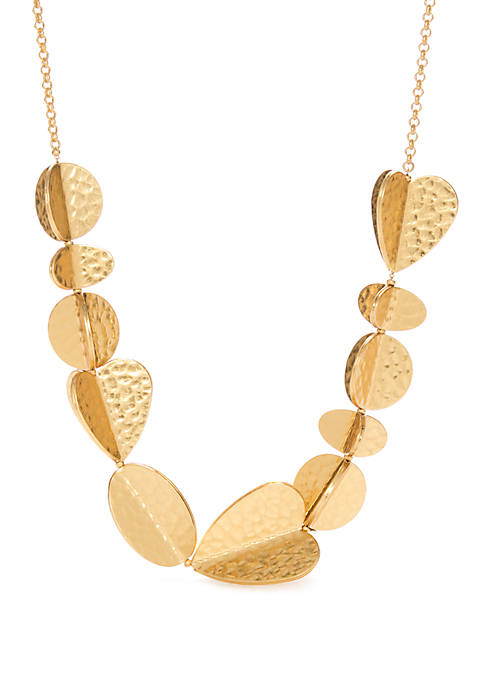 kate spade new york® Gold Tone Statement Necklace