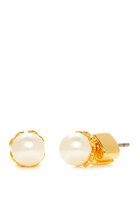 Mini Pearl Stud Earrings