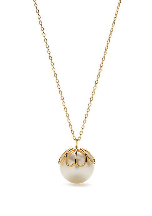 kate spade new york® Pearlette Pendant Necklace