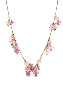 kate spade new york® Full Floret Frontal Necklace