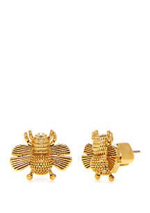 kate spade new york® Bee Stud Earrings