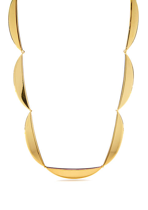kate spade new york® Gold Tone Collar Necklace