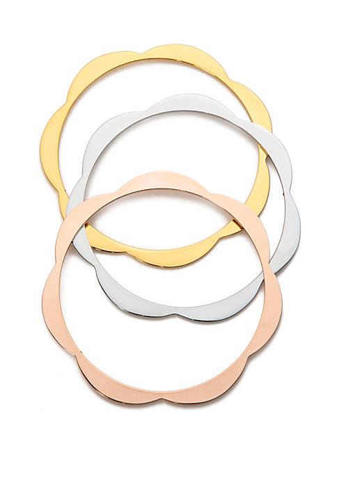 kate spade new york® Scalloped Bangle Bracelet
