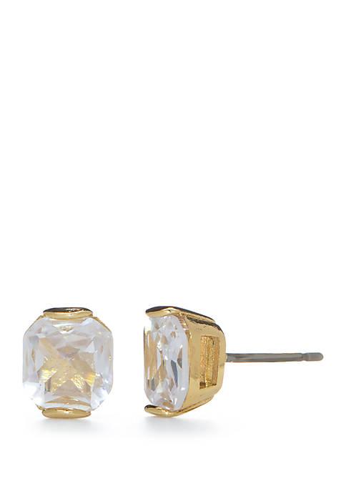 kate spade new york® Princess Cut Stud Earrings