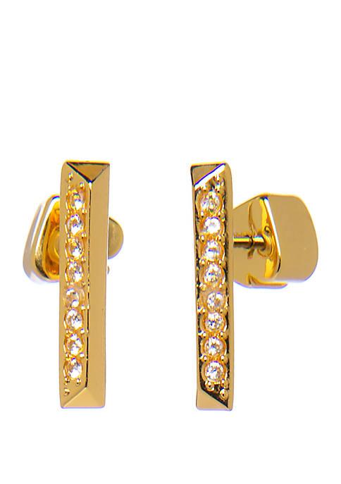 kate spade new york® Pave Stud Earrings