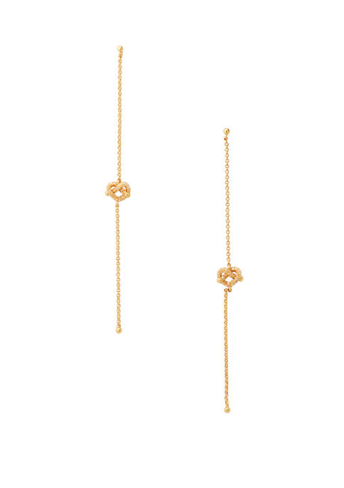 kate spade new york® Loves Me Knot Pave