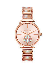 Women's Stainless Steel Portia Pavé Watch