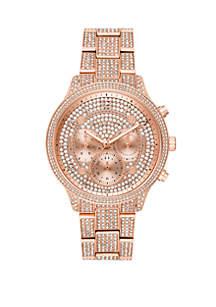 Michael Kors Runway Chronograph Stainless Steel Watch