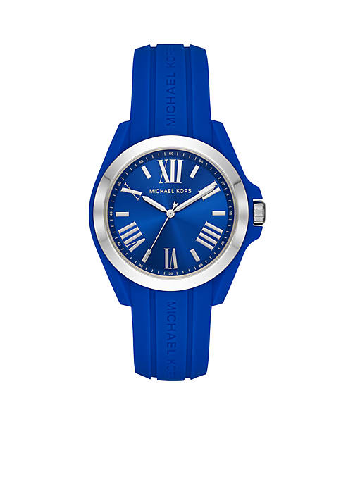 Michael Kors Silicone Bradshaw Watch