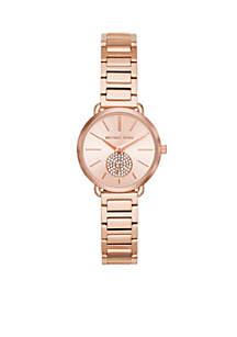 Women's Rose Gold-Tone Petite Portia Watch