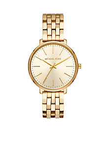 Pyper Three-Hand Gold-Tone Stainless Steel Watch
