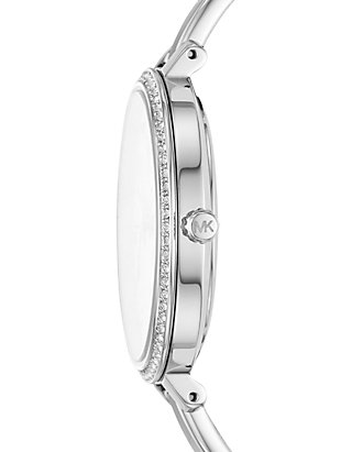 84accc969127 Michael Kors Jaryn Three-Hand Stainless Steel Watch