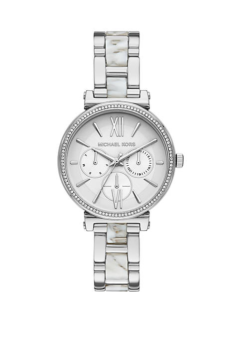 Michael Kors Sofie Multifunction Two Tone Stainless Steel