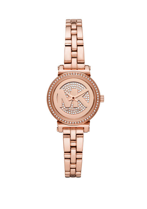 Michael Kors Womens Sofie Two Hand Rose Gold