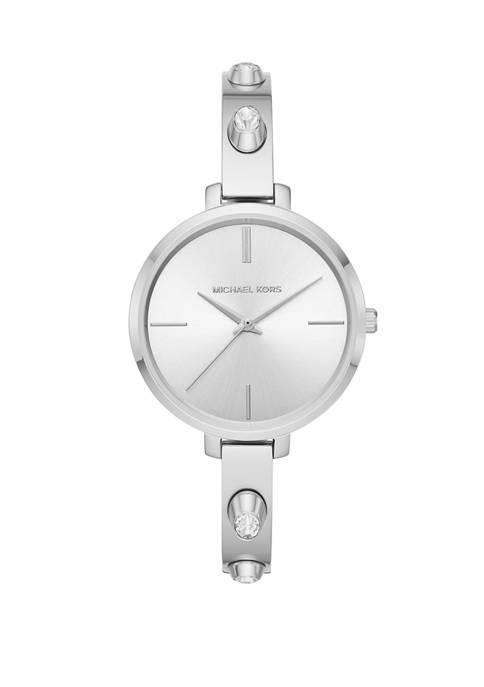 Michael Kors Jaryn Three Hand Stainless Steel Watch
