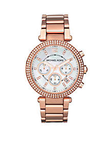 Rose Gold Parker Watch