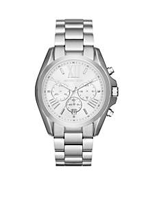 Women's Silver-Tone Stainless Steel Bradshaw Chronograph Watch