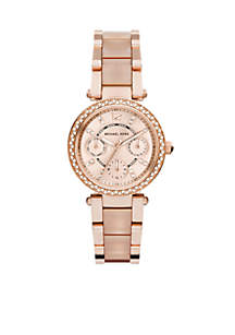 Rose Gold-Tone and Blush Mini Parker Watch