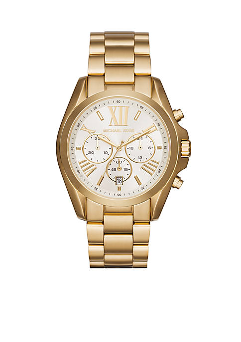 Womens Gold-Tone Bradshaw Watch