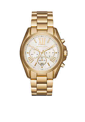 21ec75b7daf Michael Kors Women s Gold-Tone Bradshaw Watch ...