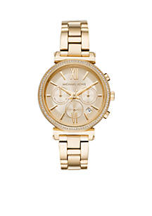 Women's Gold-Tone Sofie Watch