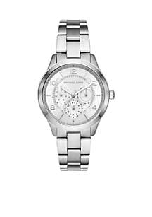 Runway Chronograph Stainless Steel Watch
