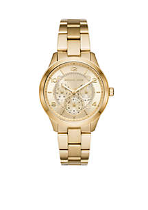 Runway Chronograph Gold-Tone Stainless Steel Watch