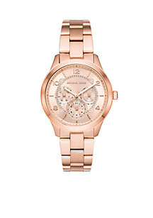 Runway Chronograph Rose Gold-Tone Stainless Steel Watch