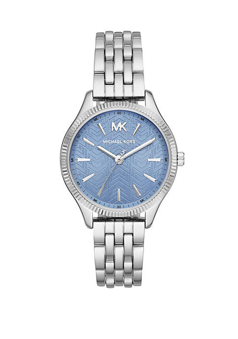 Lexington 3 Hand Stainless Steel Watch