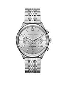 Silver-Tone Merrick Watch
