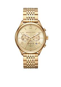 Gold-Tone Merrick Watch