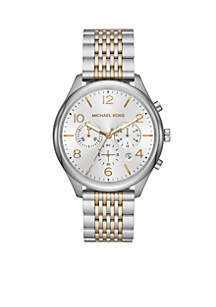 Merrick Chronograph Two-Tone Stainless Steel Watch