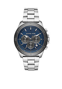 Theroux Chronograph Stainless Steel Watch