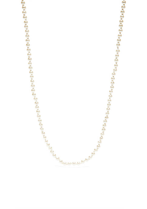 4 mm Pearl Necklace
