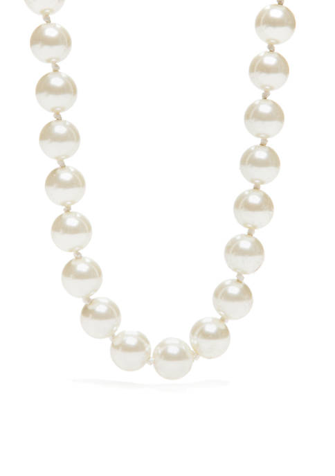 12 mm Pearl Necklace