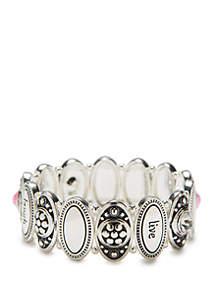 Kim Rogers® Inspirational Link Bracelet