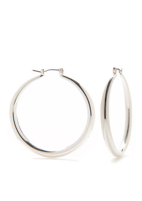 Kim Rogers® Sensitive Skin Bold Click Silver Tone