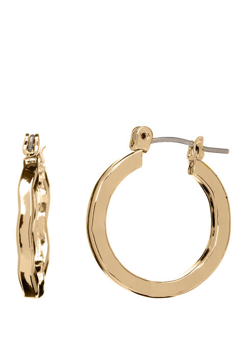 Polished Geo Click Top Earrings