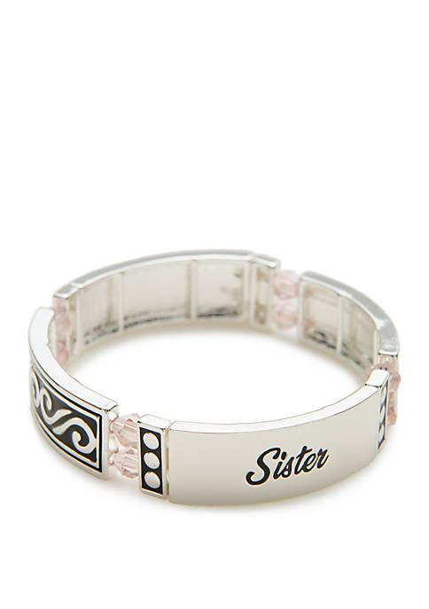 Sister Bead Link Bracelet
