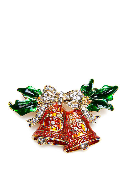 Kim Rogers® Christmas Bells Enamel Pin