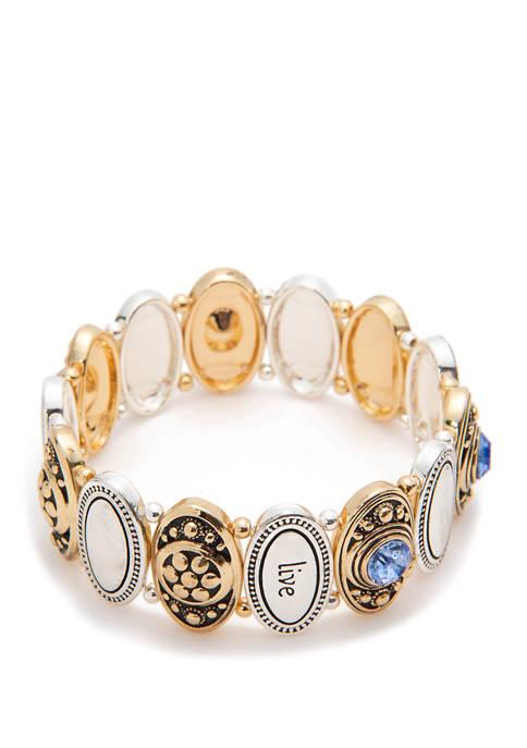 Kim Rogers® Live Love Laugh Bracelet