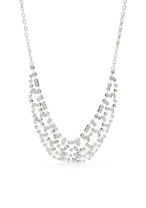 Belk Silver Pendant Necklace