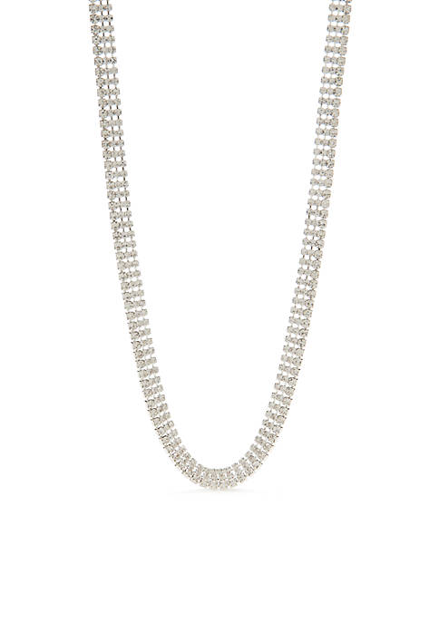 Kim Rogers® Silver Long Necklace