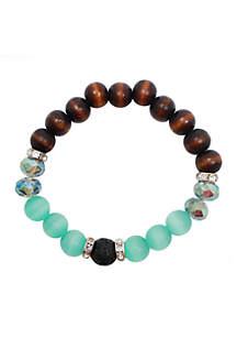 L&J ACCESSORIES Essential Oil Diffuser Bracelet