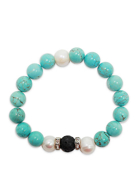 L&J ACCESSORIES Genuine Essential Oil Diffuser Bracelet