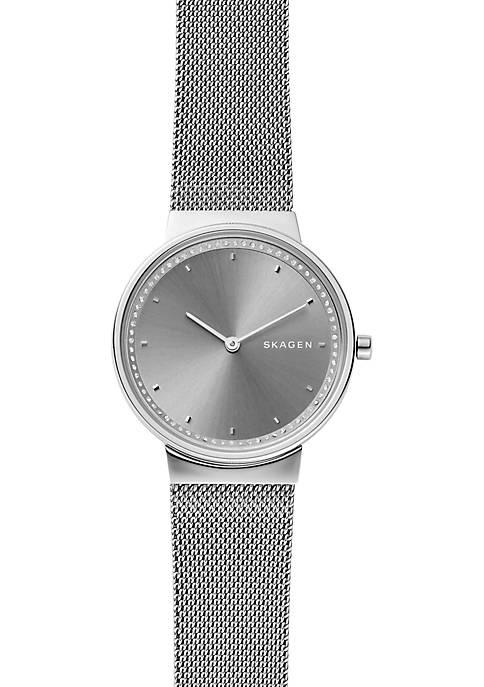 Annelie Steel Mesh Watch
