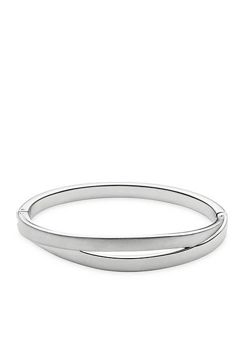 Skagen Silver-Tone Elin Bangle Bracelet
