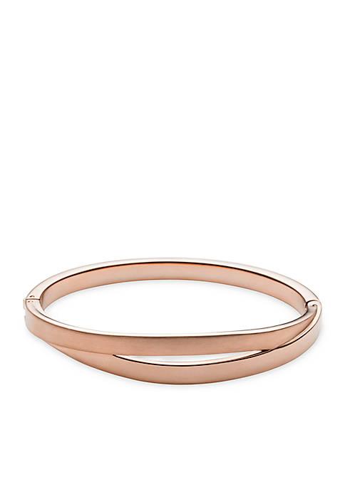 Rose Gold-Tone Elin Bangle Bracelet
