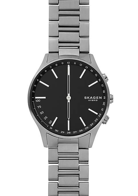 Holst Titanium and Dark Gray Link Hybrid Smartwatch