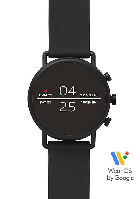 Skagen Falster 2 Black Silicone Smartwatch